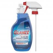 Glance Powerized Glass & Surface Cleaner 32 oz. capped spray trigger CBD540298 Front
